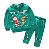 Jungen/Mädchen Zweiteiliger Jogginganzug Trainingsanzug Sweatanzug Pullover Sweatshirts Langarm Shirt Und Hose Set 5 110CM