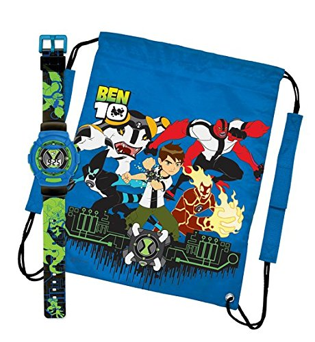 Image of Ben 10 Watch And Sports Bag Set
