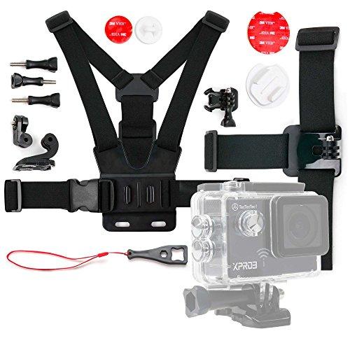 DURAGADGET Kit de Accesorios para Cámara de acción/Deportiva NK AC3078-360