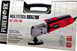 Purework Multitool Elektro Multifunktions Werkzeug, Winkelschleife?r, Schlaifgäret, Trennschleifer, zum Sägen,Trennen, S