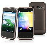 "Star B68M 3G DualSim Android Smartphone (3,5"" Multitouch-Display, GPS, WLAN, Bluetooth, UMTS, USB, 2x2000 mAh Akku) inkl. Schutztasche"