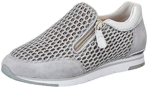 Gabor Shoes Damen Fashion Sneaker, Weiß (Ice/Stone 61), 39 EU