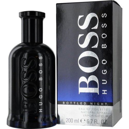 Hugo Boss Bottled Night Edt 200ml With Ayur Lotion FREE