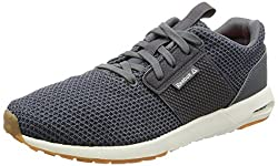 Reebok Mens Streetscape Sporty Alloy, Grey, Chalk and Red Nordic Walking Shoes - 10 UK/India (44.5 EU)(11 US)