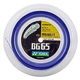Yonex BG65 Badminton String 0.70mm Royal Blue 200m