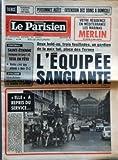 Telecharger Livres PARISIEN LIBERE LE No 11375 du 16 04 1981 PERSONNES AGEES EXTENSION DES SOINS A DOMICILE FOOTBALL SAINT ETIENNE VAINQUEUR DE LAVAL 1 0 SEUL EN TETE NANTES S EST BIEN DEFENDU A METZ 2 2 CYCLISME FLECHE WALLONNE WILLEMS REGLE TOUT LE MONDE AU SPRINT DEUX HOLD UP TROIS FUSILLADES UN GARDIEN DE LA PAIX TUE PLACE DES TERNES L EQUIPEE SANGLANTE ELLE A REPRIS DU SERVICE (PDF,EPUB,MOBI) gratuits en Francaise