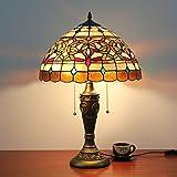 16 Zoll Pastoralen Luxus Tiffany Stil Tischlampe Nachttischlampe Schreibtischlampe Wohnzimmer Bar Lampe