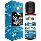 Organix Mantra Zero Congest Pure Blend Of Tea Tree, Lavender, Peppermint, Eucalyptus Oil For Sinus Relief - 10Ml