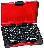 USAG U06920043 692 J100 Assortimento di Inserti per Avvitatura con Impronte Speciali, 100 Pezzi