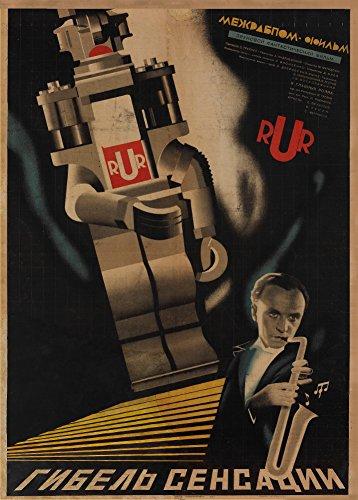 World of Art Kunstdruck/Poster, russischer Konstruktivismus, Vintage-Stil, Motiv Tod der...