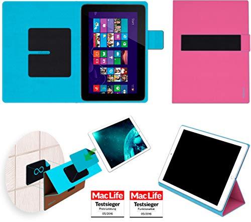reboon Hülle für HP Omni 10 Tasche Cover Case Bumper | in Pink | Testsieger