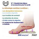 Fußreflexzonenmassage. Qualität geeignete Schuhe (Größe 39-44) mit Germanium / Turmalin / Keramik Bio. Wirksam gegen viele Krankheiten (Lesen Sie ausführliche Beschreibung). Nein. 1 Anbieter von der Behörde Welt der amerikanischen Gesundheit genehmigt. (FDA)
