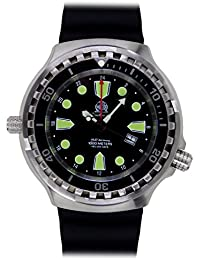 Tauchmeister 24h GMT Big size diver watch Swiss Ronda movement T0275