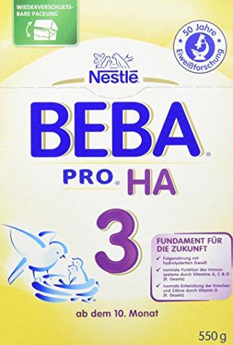 Preisvergleich Produktbild Beba HA 3,  6er Pack (6 x 550 g)