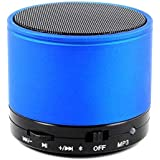 Mobile Link Mini Bluetooth Multimedia S10 Speaker System With FM/Pen Drive/SD Card – Blue