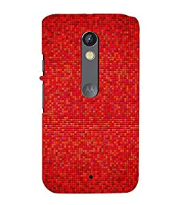 printtech Tiled Abstract Pattern Back Case Cover for Motorola Moto X Play / Motorola Moto X Play Dual SIM
