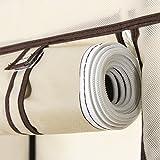 Songmics® Garderobe Stoffschrank Faltschrank Kleiderschrank Wäscheschrank mit 3 Schubladen 1 Hakenstange RYG23M -