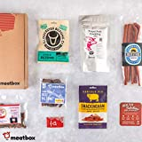 Beer Snack Meat Box - 100% British Craft Cured Meat Snacks - Perfect Gourmet Food Gift - Great with Wine, Beer or on Their own - Healthy, Nutritious, Delicious