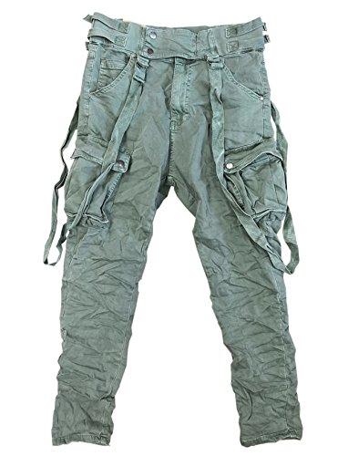 ITAIMASKA Damen Cargohose Militär HosenWorktrousers Freizeithose HS3212 (XL, Armee Grün)
