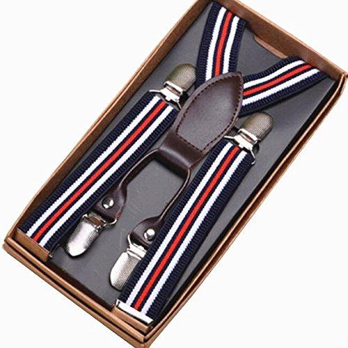 feibi - Bretelles - Garçon Medium Stripes1