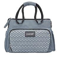 Badabulle Boho Grey Large Changing Bag with Shoulder Strap