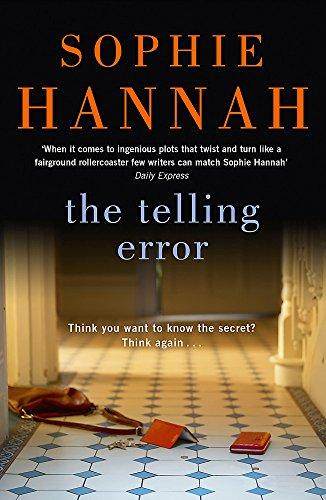 Telling Error por Sophie Hannah