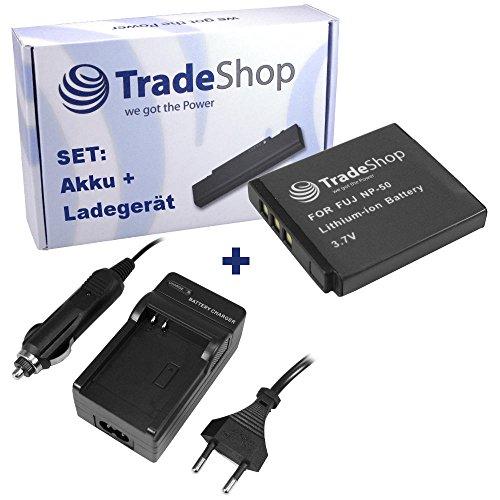 ANGEBOT IM SET: Hochleistungs Kamera Li-Ion Akku + Akku Ladegerät mit KFZ Adapter für KODAK Playsport Waterproof Pocket-Camcorder V-1233 V-1273 KLIC 7004 Zi8 Zi-8 Pocket-Camcorder Zi19 Zi-19