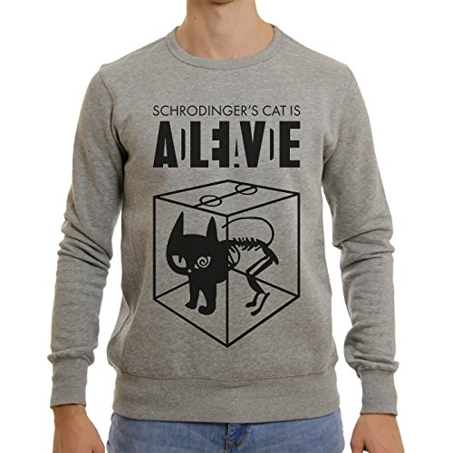 Sheldon Schroedingers Cat Is Alive Edition XL Unisex Sweater