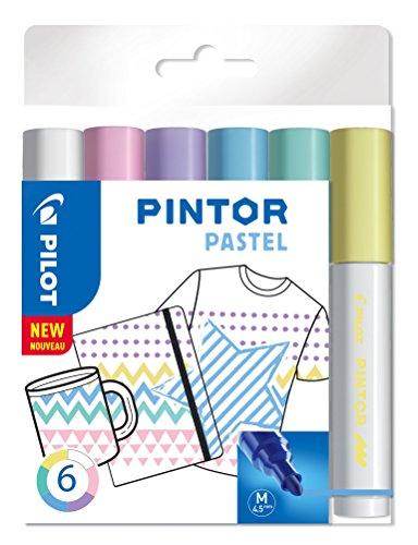 PILOT PINTOR, Kreativmarker, 6er Set