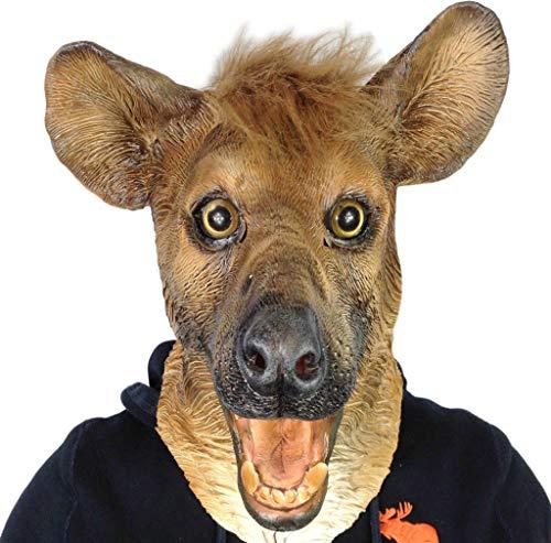 Kostüm Qualität - Lachende Hyäne Maske Hund Stil Latex