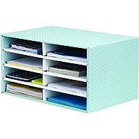 Bankers Box Style - Clasificador de sobremesa, verde y blanco