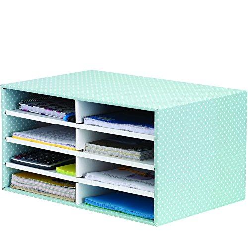 Bankers Box Style Series Schreibtisch Organizer, grün/weiß (Organisation-boxen)