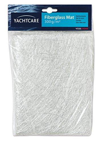 Yachtcare Glasfasermatte Glasmatte 1, 0 QM G 300, weiß, M, 137.188