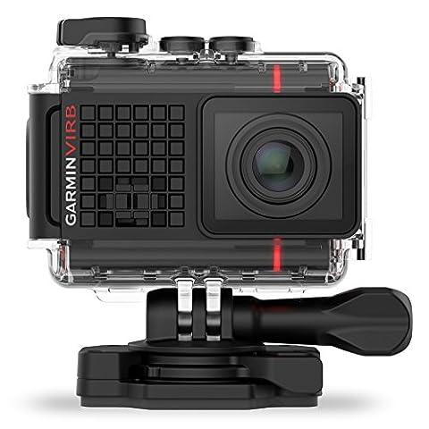 Garmin VIRB Ultra 30 Actionkamera - 4K-HD-Aufnahmen, G-Metrix, Touchscreen,