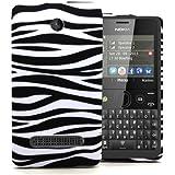 Accessory Master Coque en silicone pour Nokia Asha N210 Conception Zèbre