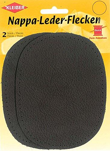 Kleiber - Parches de cuero napa ovalados