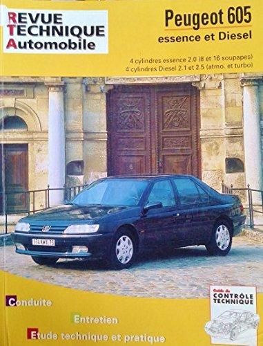 Revue technique automobile - CIP 704.2 - novembre 2005 - peugeot