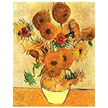Posters: Vincent Van Gogh Poster Reproduction - Tournesols III (50 x 40 cm)