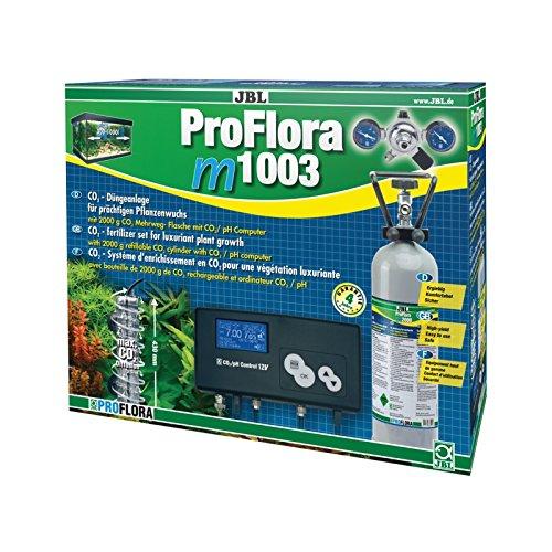 JBL ProFlora m1003 63025 Mehrweg Komplettset-Pflanzendüngeanlage für Süßwasser-Aquarien mit pH Steuergerät