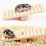 1PC Small Animal Wooden Hamster mouse Pig Rat giocare altalena masticare giocattolo di Trainer