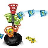 RecoverLOVE Juegos de Arcade clásicos Juego de aro de Baloncesto, Juego de Tiro de Baloncesto Mesa de Escritorio Juegos de Baloncesto Práctico y Divertido Juguete Deportivo