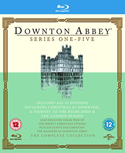 Downton Abbey – Series 1-5 [Blu-ray] [UK Import]