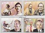 Norwegen 1791-1794 (kompl.Ausg.) 2012 Populärmusik (Briefmarken für Sammler)