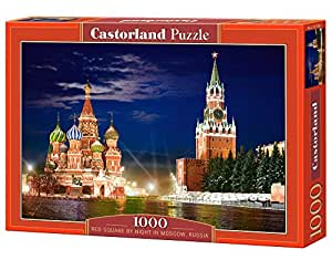 Castorland Red Square by Night Moscow Jigsaw (1000-Piece)