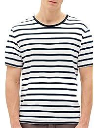 Nowadays Stripe t-Shirt, Größe:M, Producer_Color Obsidian