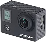 Somikon Wasserdichte Kamera: Einsteiger-4K-Action-Cam, WLAN, 2 Displays, Full HD 60 B./Sek, IP68 (4K Kamera)