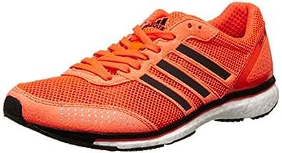 adidas Men's adizero adios Boost 2: Dark Orange: 9 UK