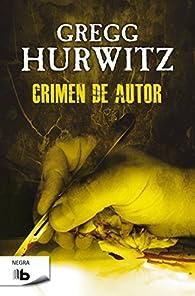 Crimen de autor par Gregg Hurwitz