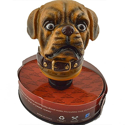 JenNiFer Car Gear Stick Shift Shift Shifter Lever Knob Antique Lucky Dog (Shifter Stick Gear)