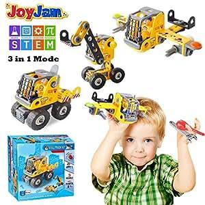 Toys For 5 8 Year Old Boys Joy Jam STEM Building Blocks Set